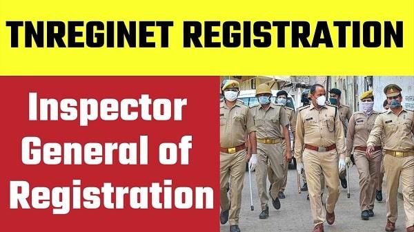 tnreginet inspector general of registration in hindi