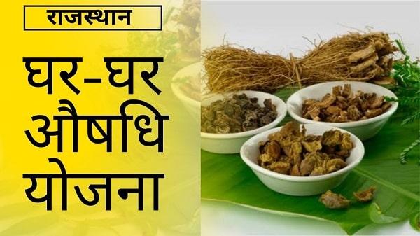 rajasthan ghar ghar aushadhi yojana in hindi